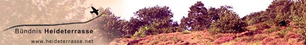 Banner Heideterrasse