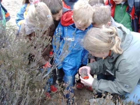 Heide-Kids mit Dr. Inge Bischoff