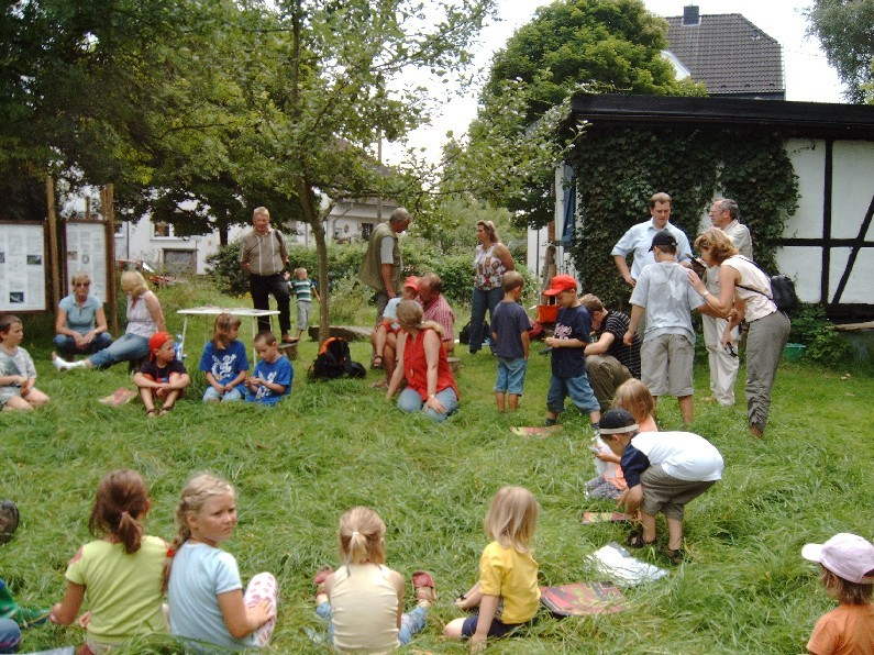 Infozentrum Wahner Heide, Heide-Kids und Heide-Wichtel sind Projekte des Bündnis Heideterrasse