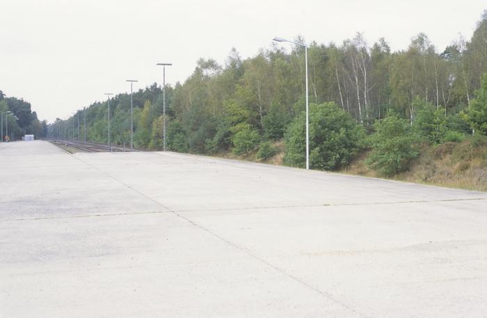 Verladerampe im Oktober 2000