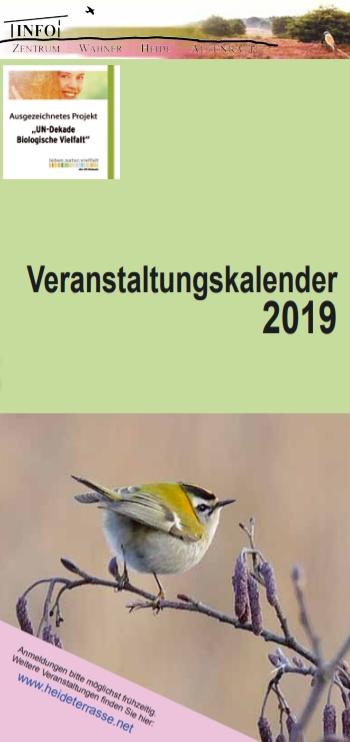 Heideterrassenveranstaltungen in 2019