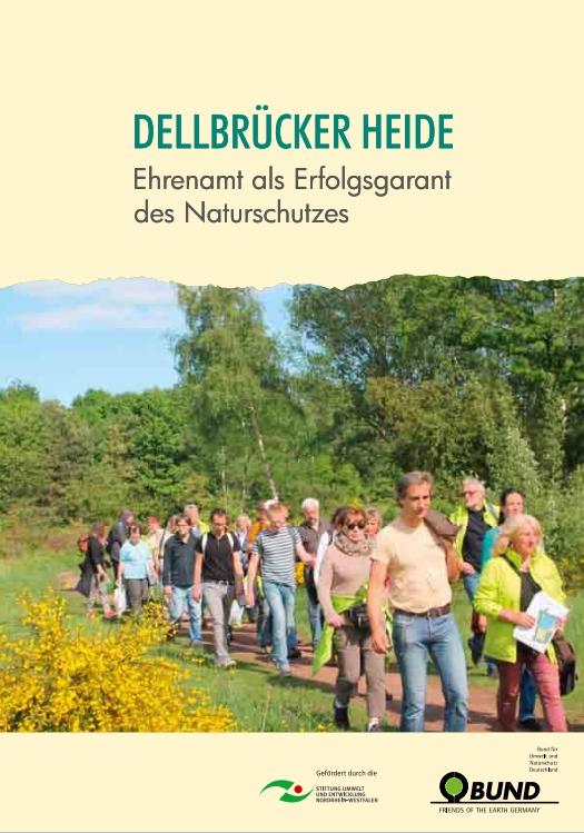 Titel des Jubiläumsbands Dellbrücker Heide