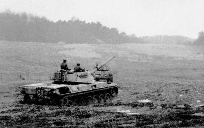 Belgische NATO Panzer bestimmten die letzten Jahrzehnte das Bild