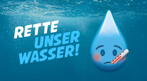 Rette unser Wasser